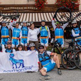 Rueda por la Diabetes al Mont Blanc, con el Doctor Delgado