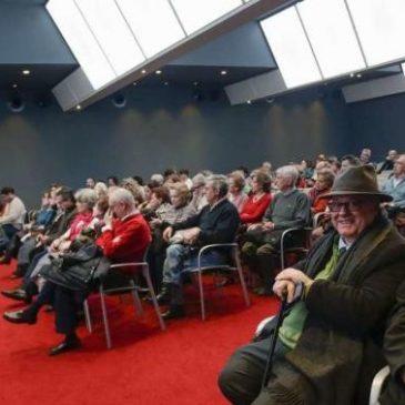 Conferencia del doctor Elías Delgado en La Nueva España