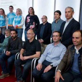 Presentación en el Club de Prensa Asturiana del Mini-reto Babia 2018 'Pedalea por la diabetes'