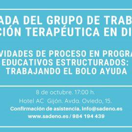 I Jornada del Grupo de Trabajo en Educación Terapéutica en Diabetes,