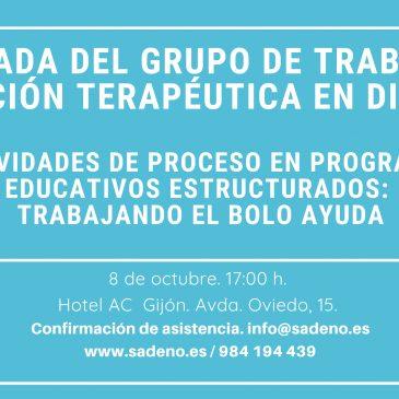 I Jornada del Grupo de Trabajo en Educación Terapéutica en Diabetes