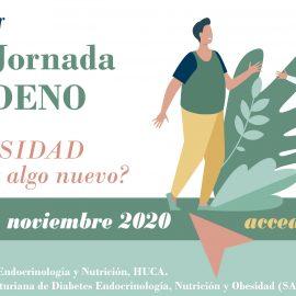 Webinar. VI Jornada SADENO – Obesidad, ¿hay algo nuevo?